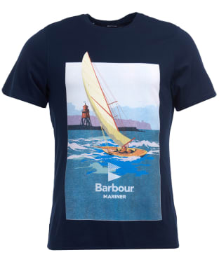 Men's Barbour Outboard Tee - Navy