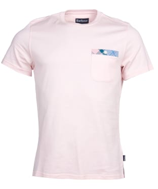 Men's Barbour Durness Pocket Tee - Chalk Pink