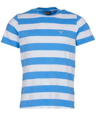 Men's Barbour Beach Stripe Tee - Colorado Blue