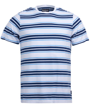 Men's Barbour Deck Stripe Tee - White