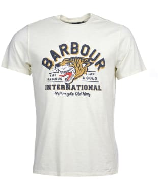Men's Barbour International Device Tee - Light Yellow