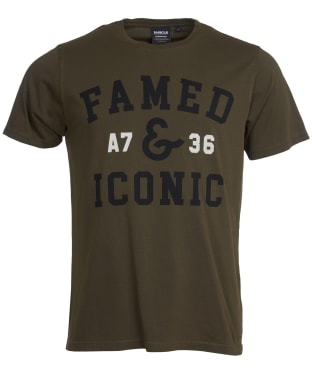 Men's Barbour International A7 Edition Tee - Washed Green