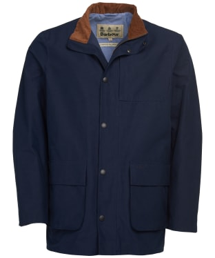Men's Barbour Middleton Waterproof Jacket - Navy