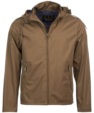 Men's Barbour Linfield Waterproof Jacket - Military Brown