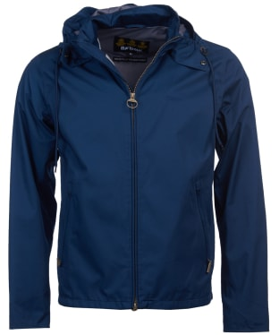 Men's Barbour Linfield Waterproof Jacket - Insignia Blue