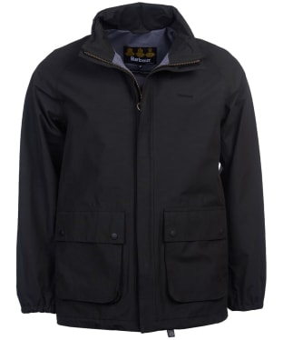 Men's Barbour Stanley Waterproof Jacket - Black