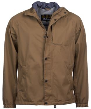 Men's Barbour Reginald Waterproof Jacket - Military Brown