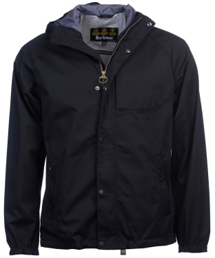 Men's Barbour Reginald Waterproof Jacket - Black