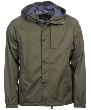Men's Barbour Reginald Waterproof Jacket - Dusty Olive