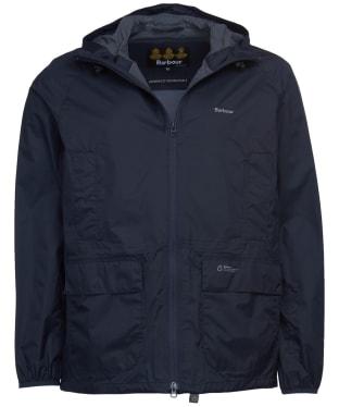 Men's Barbour Ashdown Waterproof Packaway Jacket - Navy