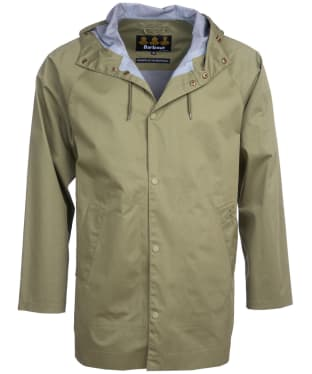 Men's Barbour Bobet Waterproof Jacket - Light Moss