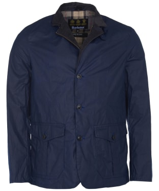 Men's Barbour Lightweight Sander Wax Jacket - Indigo
