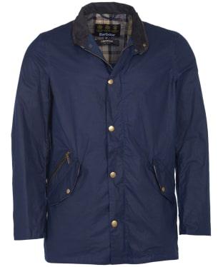 Men's Barbour Lightweight Prestbury Waxed Jacket - Indigo