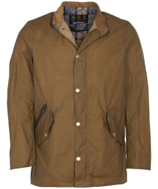Men's Barbour Lightweight Prestbury Waxed Jacket - Sand