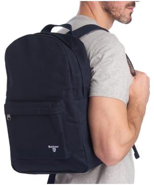 Barbour Eadan Backpack - Ink Blue