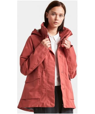 Women's Didriksons Unn Waterproof Jacket - Pink Blush