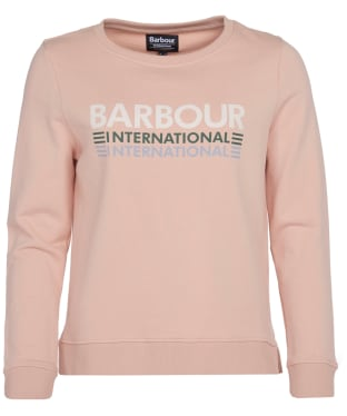 Women's Barbour International Trackrace Overlayer - Honeydew