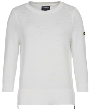 Women's Barbour International Apex Knit - Off White