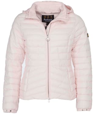 Women's Barbour International Score Quilted Jacket - Cameo Pink