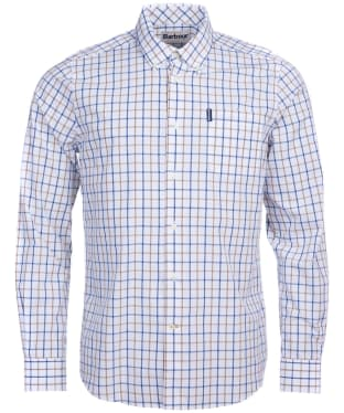 Men's Barbour Tattersall 13 Tailored Shirt - Sandstone