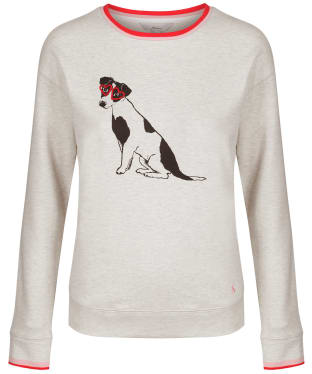 Women's Joules Presley Sweater - Grey Dog