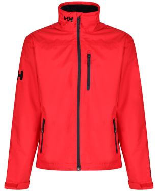 Men's Helly Hansen Crew Midlayer Jacket - Alert Red