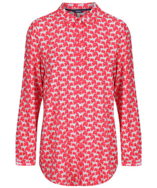 Women's Joules Elvina Woven Top - Red Dog