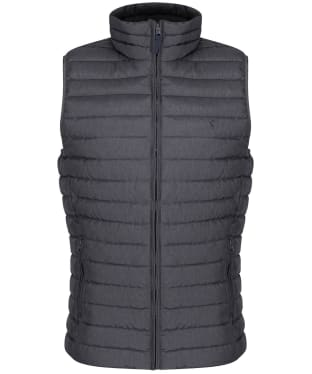 Men's Joules Go To Padded Gilet - Grey Metal