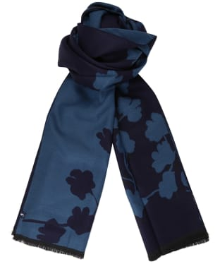 Women's Joules Jacquelyn Scarf - Teal Ditsy