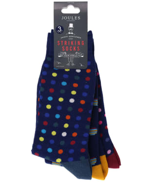 Men's Joules Striking Socks - Multi Spot