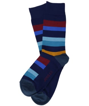 Men's Joules Striking Socks - Multi Stripe