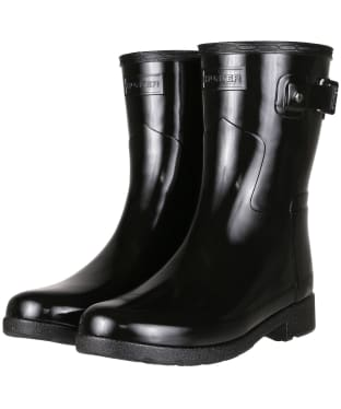 Women's Hunter Original Short Refined Gloss Wellington Boots