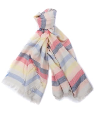 Women's Barbour Freya Rainbow Wrap - Multi Stripe