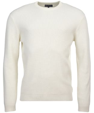 Men's Barbour Fjord Crew Sweater - Ecru