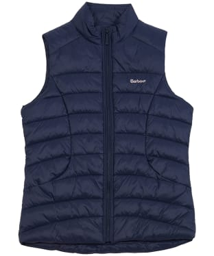 Girl's Barbour Shoreward Gilet, 6-9yrs - Navy