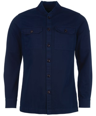 Men's Barbour International Spacer Overshirt - Navy
