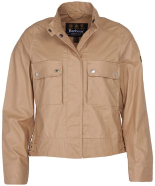 Women's Barbour International Trackrace Casual Jacket - Sahara