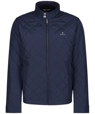 Men's GANT Quilted Windcheater - Evening Blue