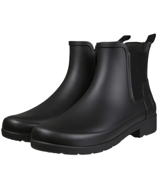Women's Hunter Original Refined Slim Chelsea Boots - Black