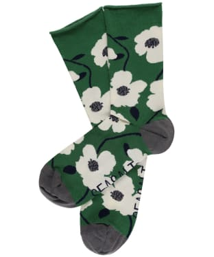 Women's Seasalt Bamboo Arty Socks - Wild Mallow Hedgerow