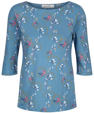 Women's Lily & Me Monica Top - Teal
