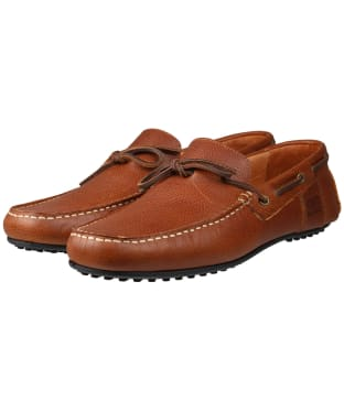 Men's Barbour Eldon Leather Shoes - Tan