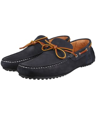 Men's Barbour Eldon Driving Shoes - Dark Blue
