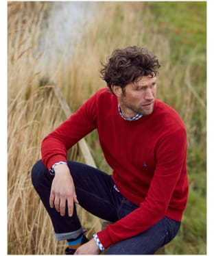 Men's Joules Redmond Sweater - Red