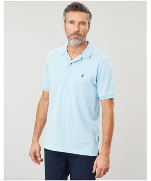 Men's Joules Woody Classic Fit Polo Shirt - Light Blue