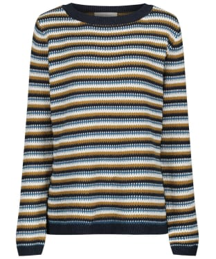 Women's Seasalt Cornish Skies Jumper - Warbler Kelp