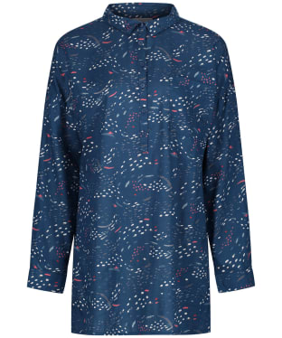 Women's Seasalt Polpeor Shirt - Murmuration Marks Storm