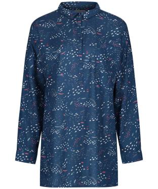 Women's Seasalt Polpeor Shirt - Murmuration Marks Storm