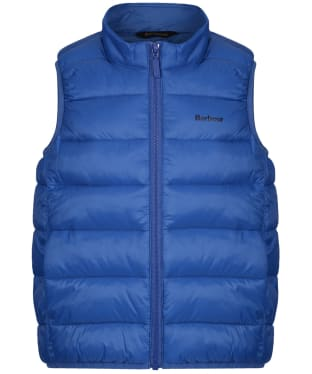 Boy's Barbour Bretby Gilet, 6-9yrs - True Blue