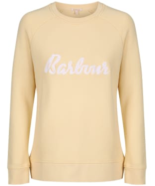 Women's Barbour Otterburn Sweatshirt - Primrose Yellow